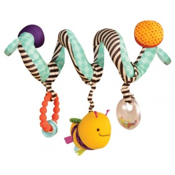 B.Toys Zabawka spirala do fotelika dla niemowląt Wiggle Wrap