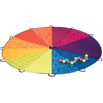 B.Toys Chusta animacyjna z kolorowymi piłkami Woo-Hue