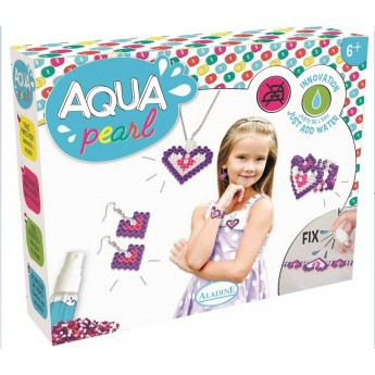 Zestaw do robienia biżuterii Aqua Pearl +6 lat, Aladine