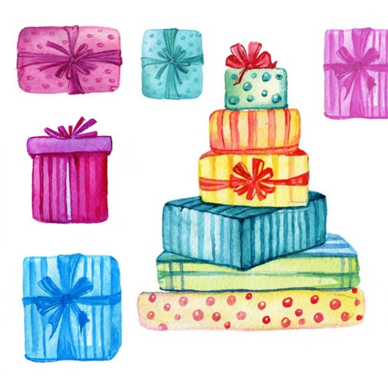 Pakowanie na prezent L - duże przedmioty (papier i folia)