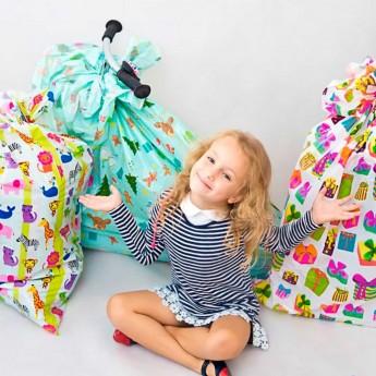 Pakowanie na prezent XL - bardzo duża zabawka (worek)