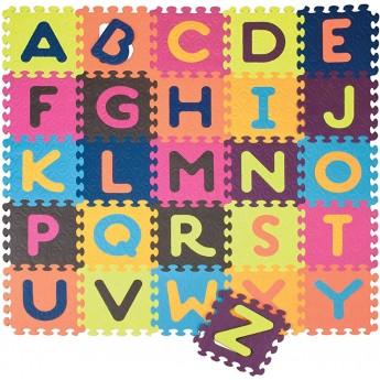 B.Toys Puzzle piankowe mata z alfabetem Beautifloor