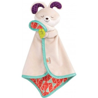 B.Toys Kocyk-przytulanka dla niemowląt Króliczek