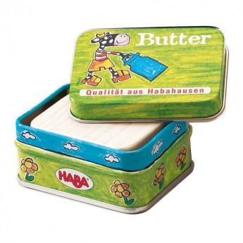 Masło drewniane w puszce, Haba