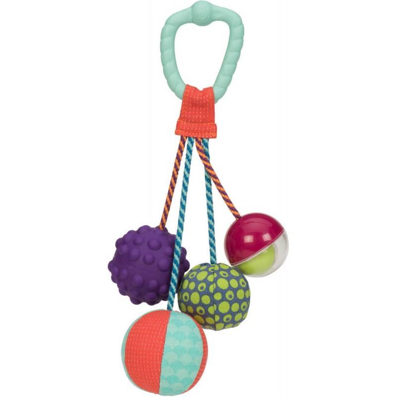 B.Toys Gryzak z piłeczkami sensorycznymi dla niemowląt