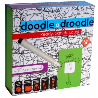 The Purple Cow gra kreatywna Doodle A Droodla +6