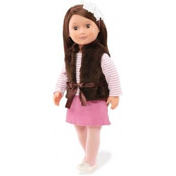 Lalka dla dzieci Sienna 46cm brunetka, Our Generation