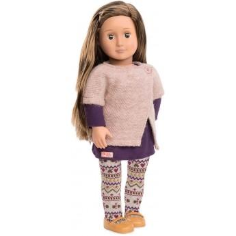 Lalka dla dzieci Karmyn 46cm szatynka, Our Generation