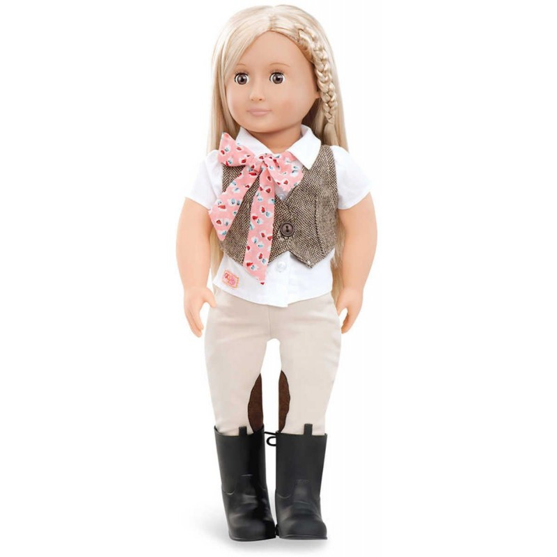 Lalka dla dzieci Leah 46cm blondynka , Our Generation