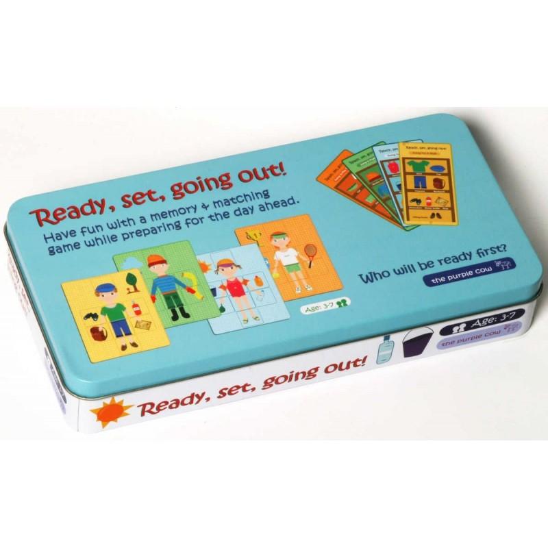 Gra edukacyjna dla 3 latków Ubieranki, The Purple Cow