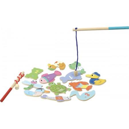 Magnetyczna gra wędkowanie W Stawie dla dzieci +, Vilac