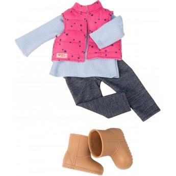 Ubrania dla lalek zestaw Trekking Star, Our Generation