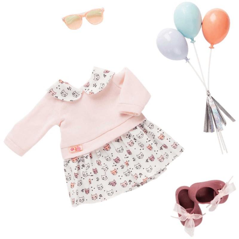 Ubrania dla lalek zestaw Up and Away, Our Generation