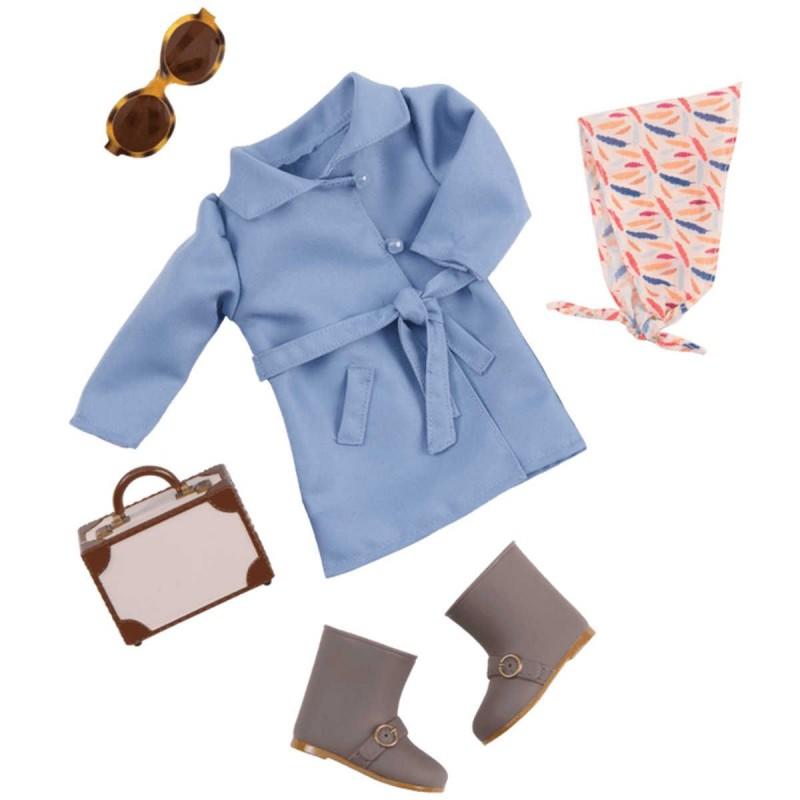 Ubrania dla lalek zestaw Business Class, Our Generation