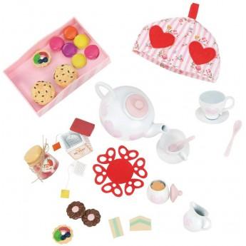 Zestaw do herbaty dla lalek zabawka, Our Generation