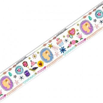 Djeco Taśma do scrapbookingu masking tape Aiko 2,5 cm