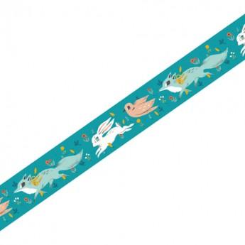 Djeco Taśma do scrapbookingu masking tape Lucille 1,5 cm