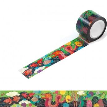 Djeco Taśma do scrapbookingu masking tape Muriel 2,5 cm