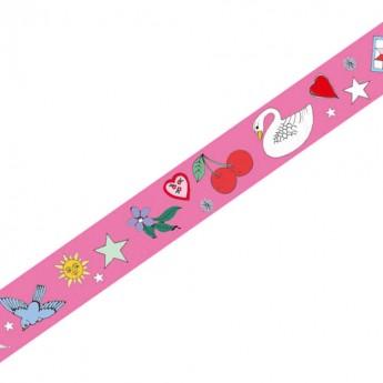 Djeco Taśma do scrapbookingu masking tape Rosie 1,5 cm