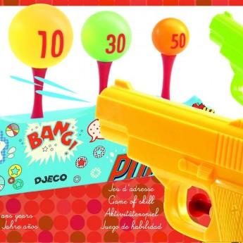 Djeco Zabawa zręcznościowa do wanny pistolet na wodę