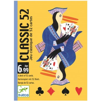 Djeco Gra karciana dla dzieci 6+ Talia 52 kart