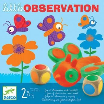 Djeco Gra planszowa dla 2 latka Little Observation