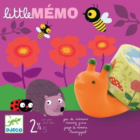 Djeco Gra planszowa pamięciowa dla 2 latka Little Memo