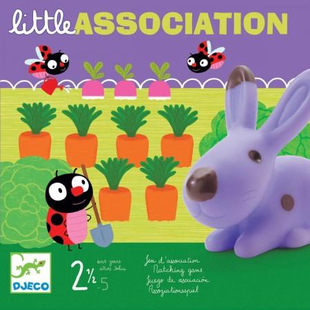 Djeco Gra skojarzenia dla 2 latka Little Association