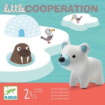 Djeco Gra kooperacyjna dla 2 latka Little Cooperation