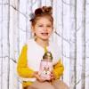 Skip Hop Bidon ze słomką Zoo Winter Jelonek dla dzieci +12m