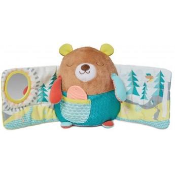 Skip Hop Zabawka edukacyjna dla niemowląt Camping Miś