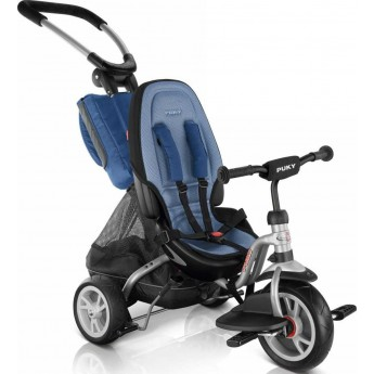 Puky CAT S6 Ceety silver/blue rower trójkołowy spacerówka od 18mc
