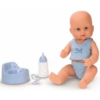 Lalka bobas Paul pije i siusia dla dzieci +3, Corolle