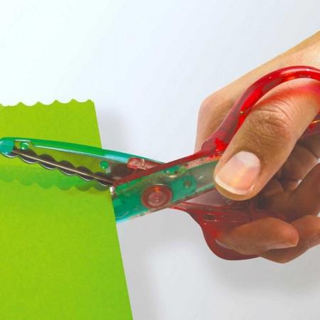 3 nożyczki dekoracyjne dla dzieci od 5 lat, Aladine
