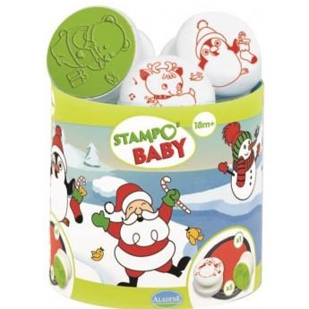 Aladine Świąteczne Stempelki 5szt dla dzieci +18m