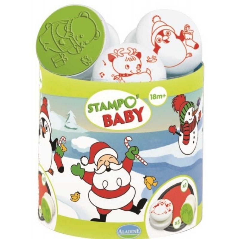 Aladine Stempelki 5szt Boże Narodzenie dla dzieci +18m