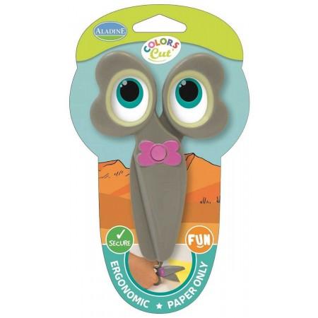 Nożyczki plastikowe bezpieczne dla 2 latka Słonik, Aladine