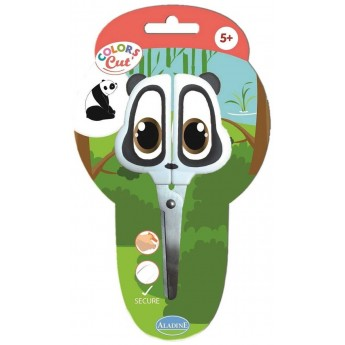Nożyczki metalowe dla dzieci od 5 lat Panda, Aladine
