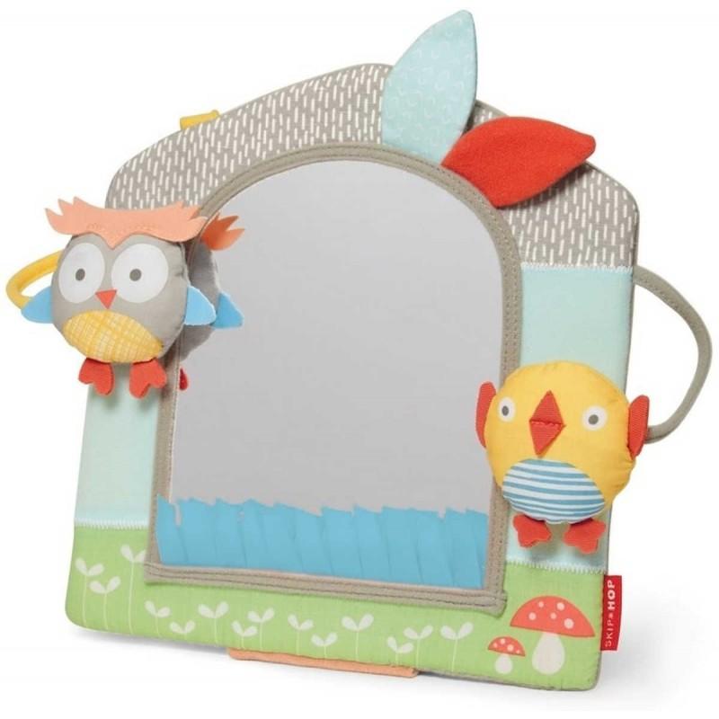 Skip Hop Lusterko edukacyjny dla niemowląt Treetop Grey / Pastel