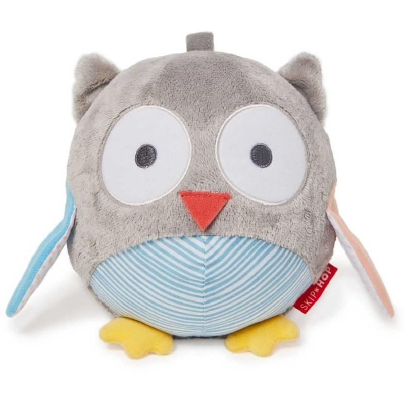 Skip Hop Piłka muzyczna dla niemowląt Sowa Treetop Grey / Pastel
