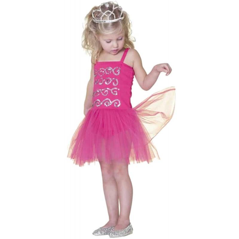 Przebranie księżniczki Sheila dla dziewczynki 3-4 lat, Rose & Romeo