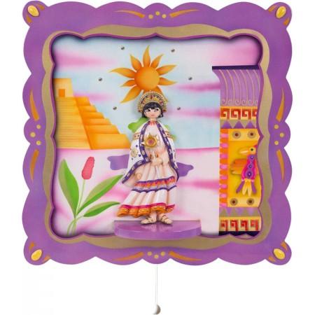 Pozytywka dla niemowląt z światełkami Księżniczka Inka