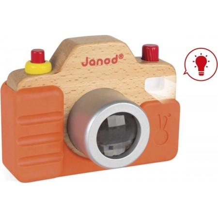 Janod Drewniany aparat fotograficzny z dźwiękami +18mc