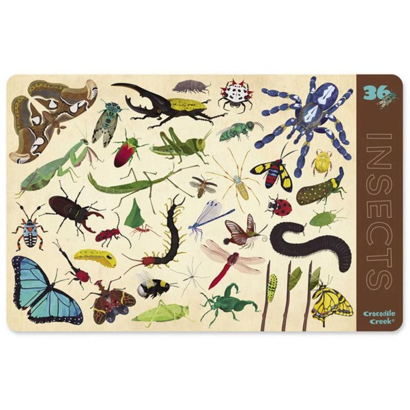 Crocodile Creek podkładka na stół dla dzieci Insekty