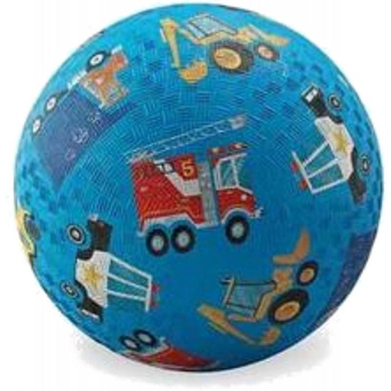 Piłka gumowa dla dzieci 18cm Pojazdy, Crocodile Creek