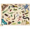 Puzzle kartonowe 100 elementów Owady, Crocodile Creek