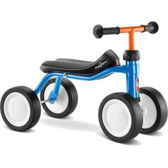 PUKYlino jeździk niebieski lazurowy metalowy dla dzieci +12m