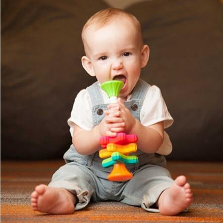 Zakręcone MiniSpinny zabawka sensoryczna Fat Brain Toy
