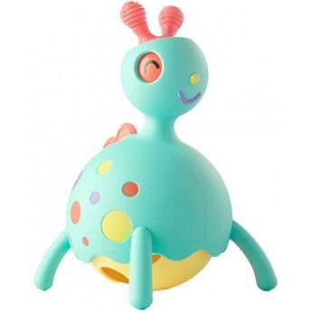 Rollobie niebieski zabawka sensoryczna +12m, Fat Brain Toys
