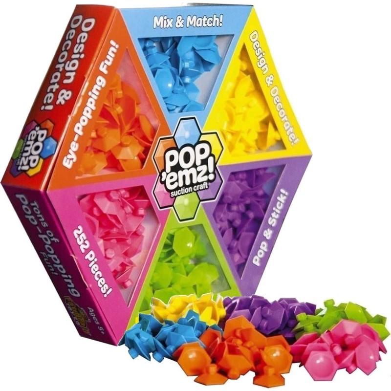 Układanka na przyssawki Pop'emz 252 elementów, Fat Brain Toy